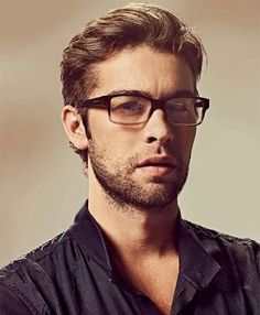 OMG geek version of him. Ok that is super hot. Gorgeous Mr Crawford! ♥