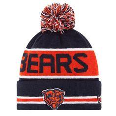 5d7f0167b5bf3f Men's New Era Navy Chicago Bears 2018 NFL Sideline Cold Weather ...