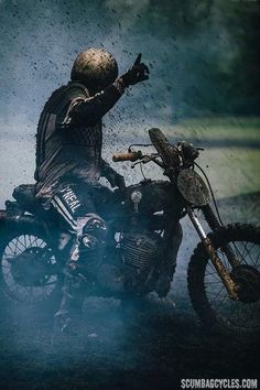 MUD - Pin by Corb Motorcycles