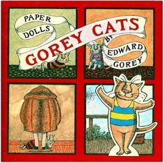 gorey cats paper dolls