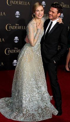 Lily James Is ACTUALLY CINDERELLA at the Latest Cinderella Premiere