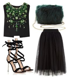 """""""Untitled #3931"""" by evalentina92 ❤ liked on Polyvore featuring Charlotte Russe, Miu Miu and Gianvito Rossi"""