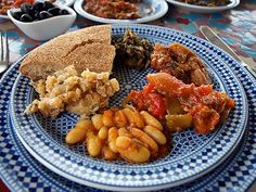 Traditional Moroccan cuisine Yummers!
