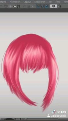 Digital Painting Tutorials, Digital Art Tutorial, Art Tutorials, Drawing Hair Tutorial, Digital Art Beginner, How To Shade, Digital Art Anime, Ipad Art, Art Drawings Sketches Simple