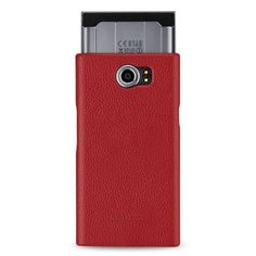 TETDED Premium Leather Case for BlackBerry Priv -- Caen (LC: Red) #TETDED