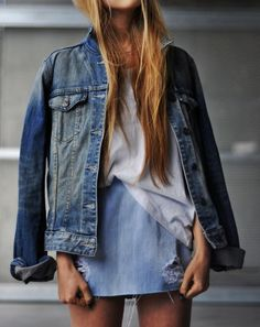 denim on denim | #f21denim