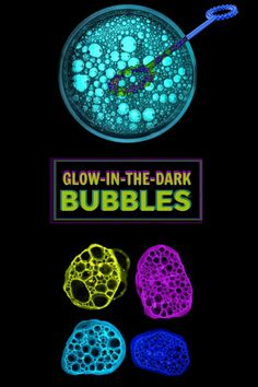 GLOW-IN-THE-DARK BUBBLES (play recipe for kids) #bubbles #bubblesrecipe #playrecipesforkids #glowinthedarkbubbles #bubblerecipe #bubblerecipehomemade #bubblerecipesforkids