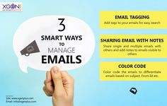 Email Management is the first step to your business growth