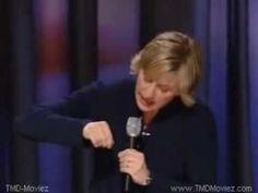 Ellen DeGeneres Comedy Stand Up Act.
