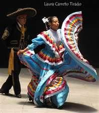 The Mexican Hat Dance also known in Spanish as el Jarabe Tapatío