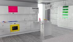 Pantone alla Milano Design Week 2012 con gli elettrodomestici ideati dallo studio di design Antonio Lanzillo & Partners #MDW