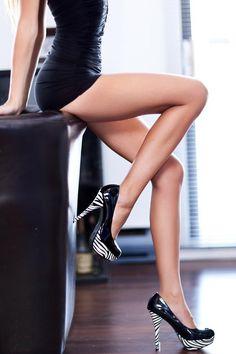 love these zebra heels!!