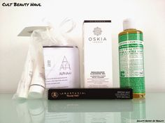 Gyudy's Notes Of Beauty: Cult Beauty Haul & First Impressions