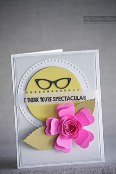 Geek Is Chic, Geek Is Chic Glasses Die-namics, Blueprints 18 Die-namics, Stitchable Dot Circle STAX Die-namics - Keisha Campbell #mftstamps