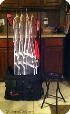 Dream Duffel - Unpacking It Product Review - Stephanie Click | January 18, 2012  | @stephanieclick