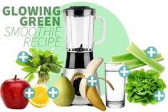 Pin if you've already had your Glowing Green Smoothie today! #GGS