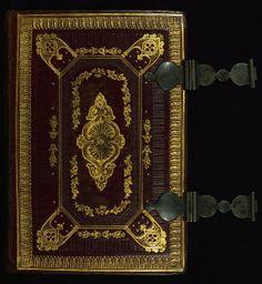 Almugavar Hours, Binding, Walters Manuscript W.420, Upper board outside