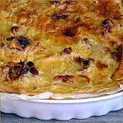 Recetas de cocina faciles y ligeras: TARTA DE QUESO Y TOMATE