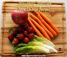 Try this juicing recipe, it's delicious! Lots of healthy skin benefits, memory benefits, and energy boost! The page has a full list of ingredients, and even gives measurements of each vegetable and fruit in cups to make it precise and easy if you wish.