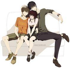 Zankyou no Terror~ This anime is amazing! I miss them :(