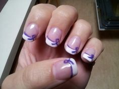 purple ribbon - Google Search  manicure for a cure? have manicurist come for discounted price, have people come in and pay a certain amount, as a part of destress fest?
