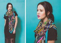 Look Book   Yaelle   www.yaelle.co.uk  silk scarf