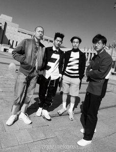 2015.07, Harper's Bazaar, hyukoh, Oh Hyuk, Lee In Woo, Im Dong Gun, Im Hyun Je