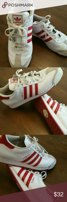 Adidas Shoes Adidas Samoa Leather shoes very nice, great condition adidas Shoes Athletic Shoes