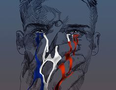 """Check out new work on my @Behance portfolio: """"Pray for Paris"""" http://be.net/gallery/31256261/Pray-for-Paris"""