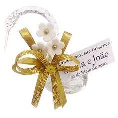 Lembrancinha de Casamento Cisne de Vidro Decorado $3.20