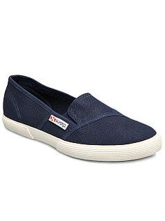 Shop Superga Womens 2210 Cotw Slip-ons-black from stores. Slip On Sneakers, Slip On Shoes, Supermodels, Vans, Loafers, Casual, How To Wear, Leather, Shopping