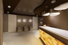 Reception at the #SPA will be a place where visitors will figure out everything about our treatments.