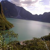 The magnificent Mt. Pinatubo crater!