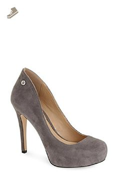 BCBGeneration Gisel Platform Pumps Women's Shoes, Smoke, 8M - Bcbgeneration  pumps for women (