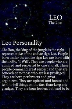 Leo personality