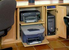 Ocultar la impresora en un despacho