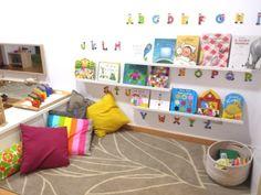 espacios montessori en casa - Google Search