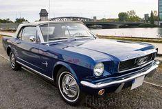 Oldtimer Ford Mustang Cabrio zum Mieten