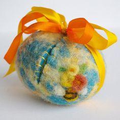 Easter Egg #easter  Waldorf Wool Easter Egg Toy Sweet Something by BeneathTheRowanTree, $26.50