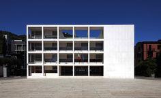 IT, Como, Casa del Fascio. Architect Giuseppe Terragni, 1936.