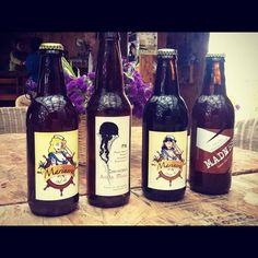 Marinera and Aguamala Beers from Ensenada, Baja California.
