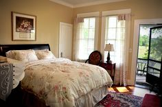 Oh what a great get away! Ms. Ruby's Room at Texas Forest Country Retreat B & B.