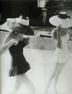 Henry Clarke, Dior, 1954