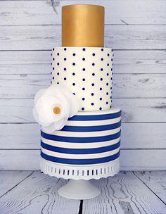 11 Non Froufrou Wedding Cakes from Jessica Harris Cake Design - Mon Cheri Bridals