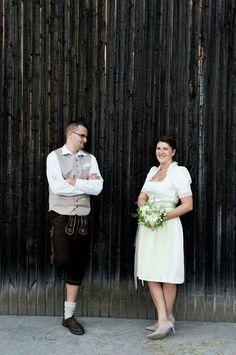 Hochzeitsdirndl und Weste