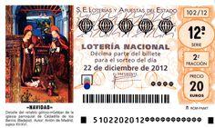 Décimos para el Sorteo de Navidad 2012. Ya disponibles en Ventura24 http://www.ventura24.es/loteria-de-navidad/loteria-de-navidad-decimo.do