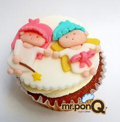 mr.ponQ cup-Cakes. Angelitos