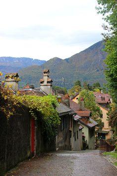 A French street in Annecy. France ~~ For more:  - ✯ http://www.pinterest.com/PinFantasy/viajes-~-la-france-en-images/