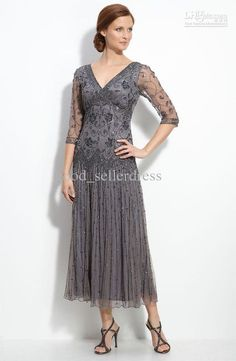 ankle length mother of the bride dresses - Google Search