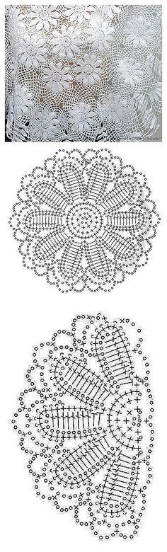patrón motivos crochet